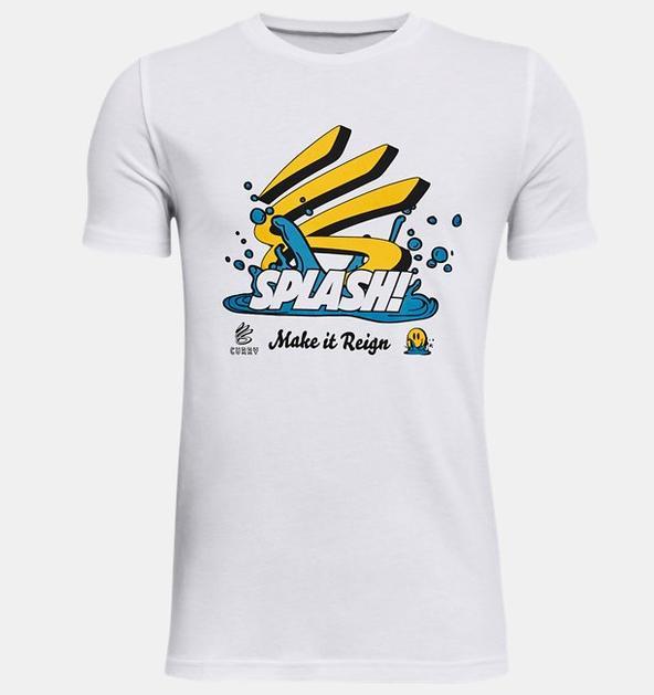 Erkek Çocuk Curry Splash Kısa Kollu Tişört