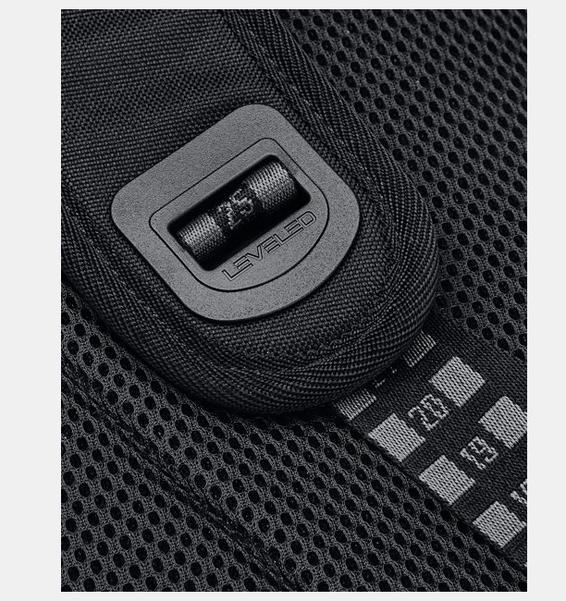 Siyah UA Hustle Pro Sırt Çantası