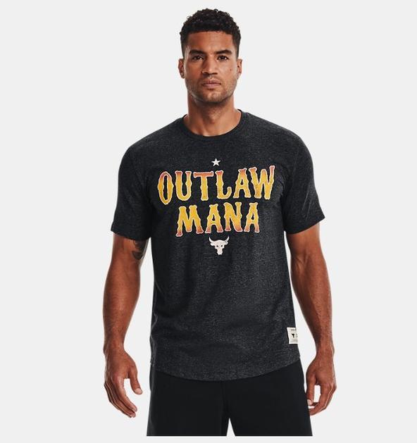 Erkek Project Rock Outlaw Kısa Kollu
