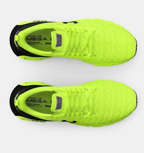 Sarı Erkek UA HOVR™ Mega 2 Clone Koşu Ayakkabısı