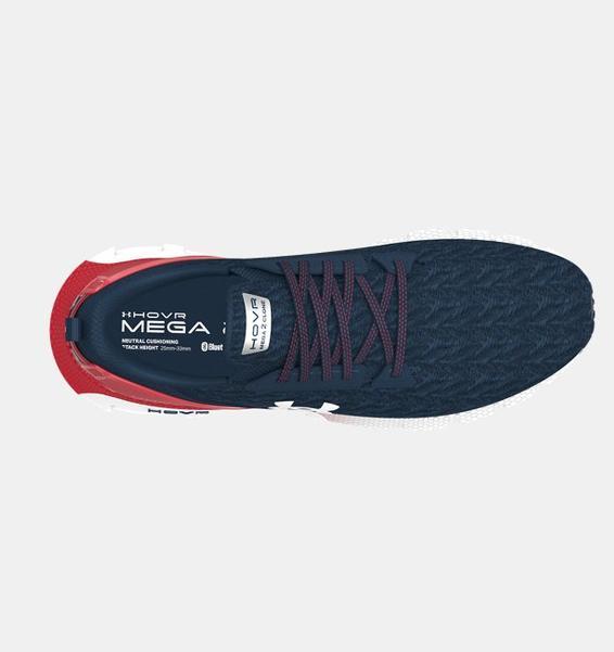 Lacivert Erkek UA HOVR™ Mega 2 Clone Koşu Ayakkabısı