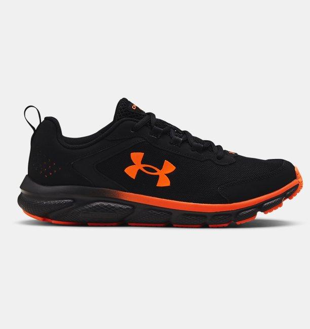 Erkek UA Charged Assert 9 Koşu Ayakkabısı Siyah