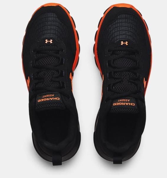 Siyah Erkek UA Charged Assert 9 Koşu Ayakkabısı
