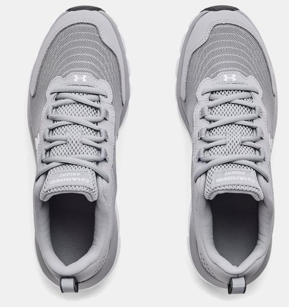 Gri Erkek UA Charged Assert 9 Koşu Ayakkabısı