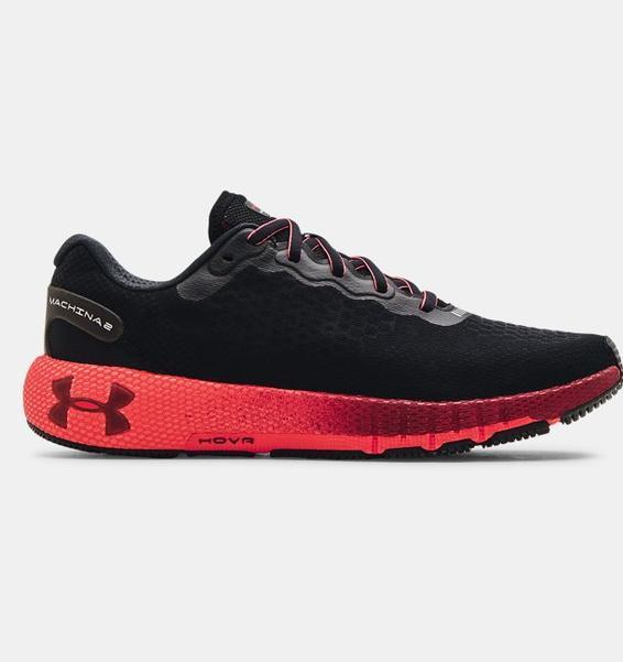 Siyah Erkek UA HOVR™ Machina 2 Colorshift Koşu Ayakkabısı