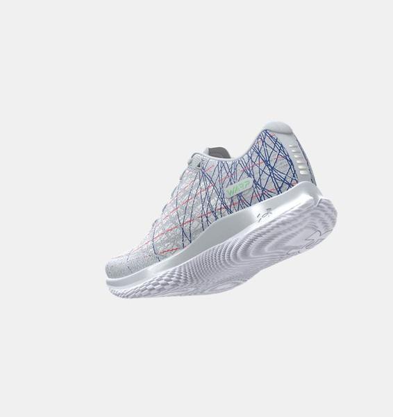 Gri Kadın UA Flow Velociti Wind PRZM Koşu Ayakkabısı