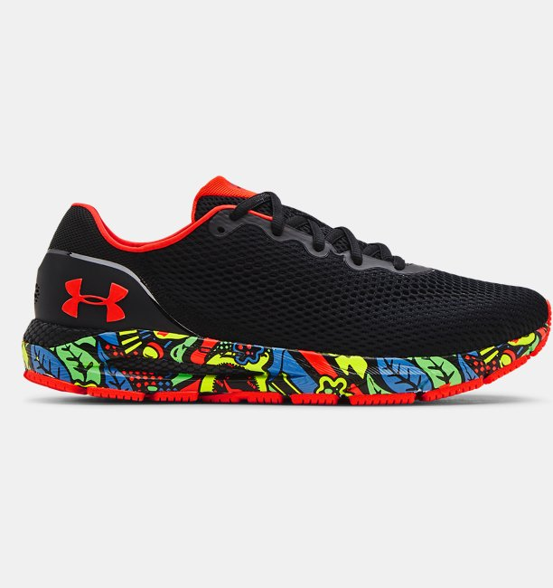 Erkek UA HOVR™ Sonic 4 Run Weird Koşu Ayakkabısı Siyah