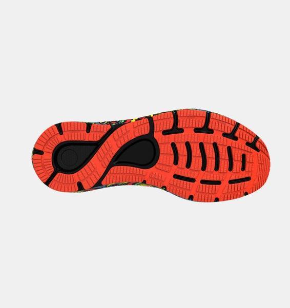 Siyah Erkek UA HOVR™ Sonic 4 Run Weird Koşu Ayakkabısı