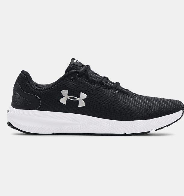 Erkek UA Charged Pursuit 2 Rip Koşu Ayakkabısı Siyah