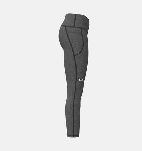Gri Kadın HeatGear® Armour Hi-Rise Ankle Tayt