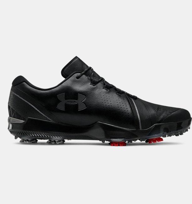 Erkek UA Spieth 3 Golf Ayakkabısı Siyah