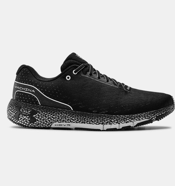 Erkek UA HOVR™ Machina Koşu Ayakkabısı Siyah
