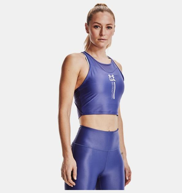 Kadın UA Iso-Chill Crop Atlet