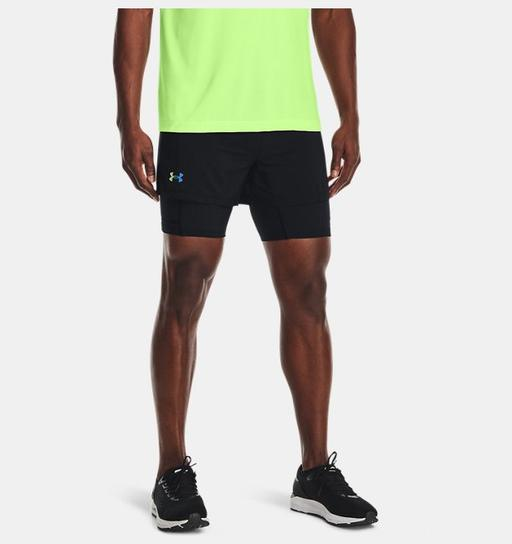Erkek UA RUSH™ 2'si 1 arada Koşu Şortu