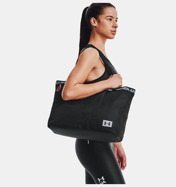 Siyah Kadın UA Essentials El Çantası