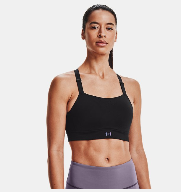 Kadın UA RUSH™ High Spor Sütyeni Siyah
