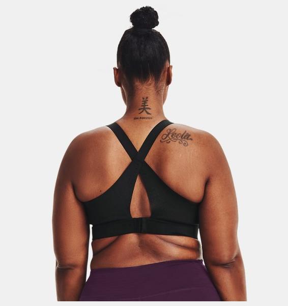 Siyah Kadın UA RUSH™ High Spor Sütyeni