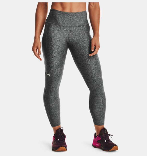 Kadın HeatGear® Armour Hi-Rise Ankle Tayt Gri
