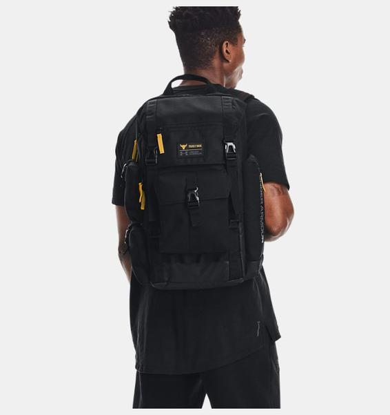 Siyah Erkek UA Project Rock 3 Antrenman Ayakkabısı