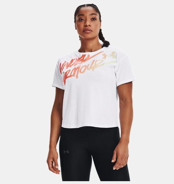 Kadın UA Chroma Graphic Tişört