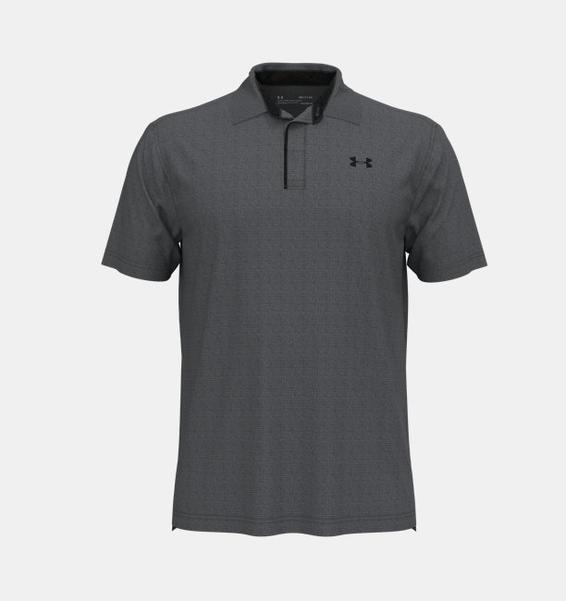 Gri Erkek UA Tech Polo Tişört